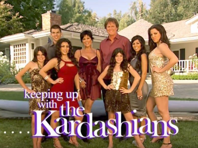 Keeping Up With the Kardashians opening titles