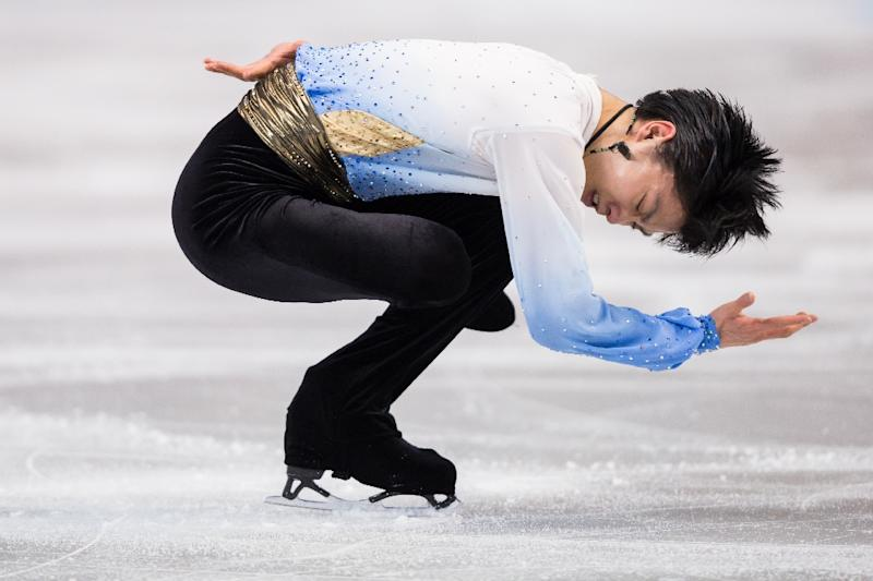 In the opening short programme Yuzuru Hanyu more than met expectations and the crowd at Boston's TD Garden roared their approval at the end of his seemingly flawless skate