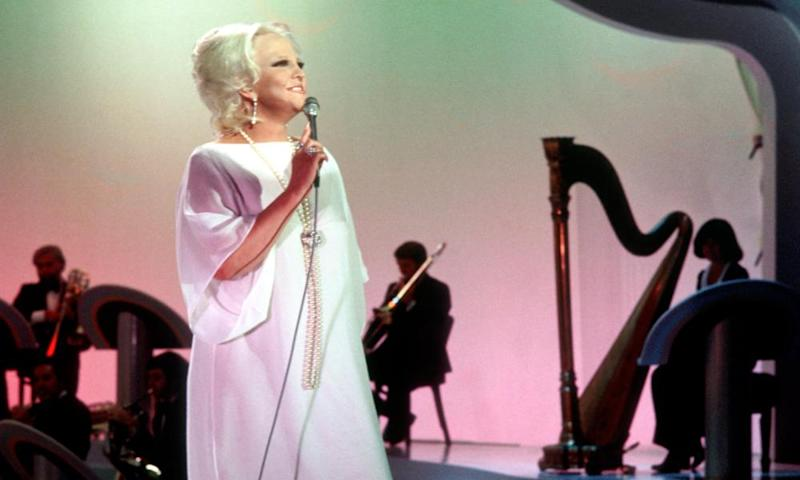 New decade, new image … Peggy Lee in the 1970s.