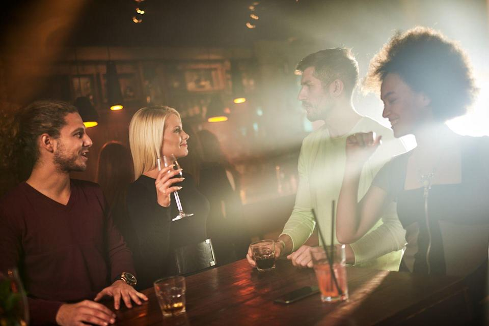 <p>Who says you can't make it a group hang if you already do cute date nights all the time anyway? </p>