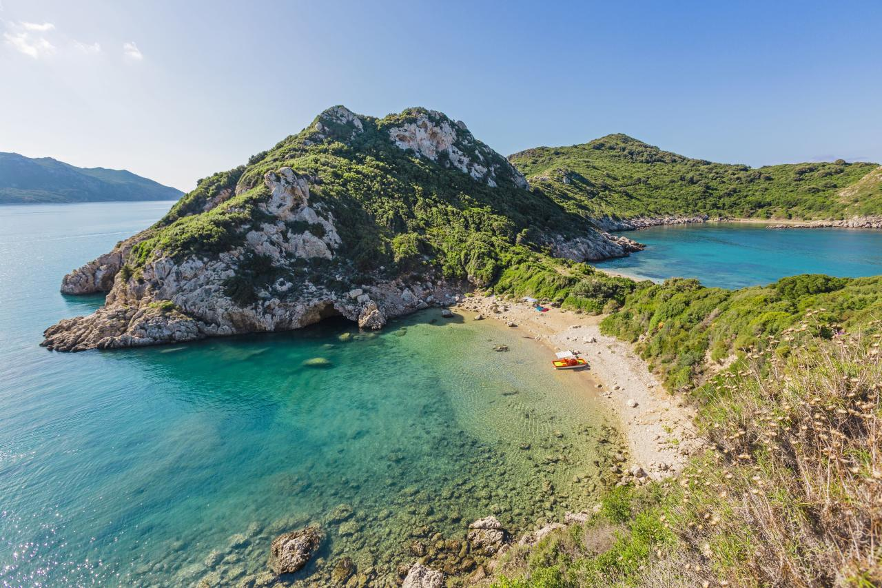 "<p>The beguiling island off Greece's northwest coast is poised to trend with its rich culinary scene (a blend of Venetian and Greek influences, plus stunning olive and kumquat orchards) and the luxurious relaunch of a storied celebrity hideaway, the <a href=""http://domesmiramare.com/"" target=""_blank"">Domes Miramare, A Luxury Collection Hotel.</a></p>"