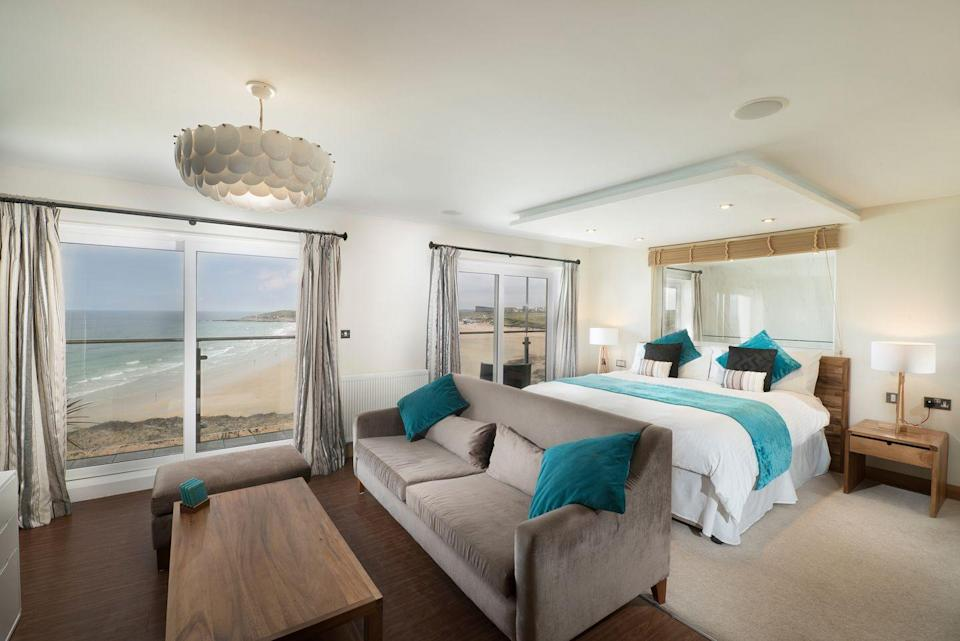 """<p>This adults-only hotel in Cornwall affords not only a terrific location overlooking surfing beach Fistral, but a top-notch spa for you to unwind with treatments and in the sauna or hot tub, too.</p><p>At <a href=""""https://go.redirectingat.com?id=127X1599956&url=https%3A%2F%2Fwww.booking.com%2Fhotel%2Fgb%2Ffistral-beach-and-spa.en-gb.html%3Faid%3D2070929%26label%3Dsynd-cornwall-hotels&sref=https%3A%2F%2Fwww.redonline.co.uk%2Ftravel%2Finspiration%2Fg35836742%2Fbest-hotels-in-cornwall-1%2F"""" rel=""""nofollow noopener"""" target=""""_blank"""" data-ylk=""""slk:Fistral Beach Hotel and Spa"""" class=""""link rapid-noclick-resp"""">Fistral Beach Hotel and Spa</a>, the Dune Restaurant has floor-to-ceiling windows for you to watch the waves as you dine and the Bay Bar is perfect for relaxing with a drink. If the weather plays up, you can swap the beach for the indoor swimming pool at this wonderful hotel for grown-ups.</p><p><a class=""""link rapid-noclick-resp"""" href=""""https://go.redirectingat.com?id=127X1599956&url=https%3A%2F%2Fwww.booking.com%2Fhotel%2Fgb%2Ffistral-beach-and-spa.en-gb.html%3Faid%3D2070929%26label%3Dsynd-cornwall-hotels&sref=https%3A%2F%2Fwww.redonline.co.uk%2Ftravel%2Finspiration%2Fg35836742%2Fbest-hotels-in-cornwall-1%2F"""" rel=""""nofollow noopener"""" target=""""_blank"""" data-ylk=""""slk:CHECK AVAILABILITY"""">CHECK AVAILABILITY</a></p>"""