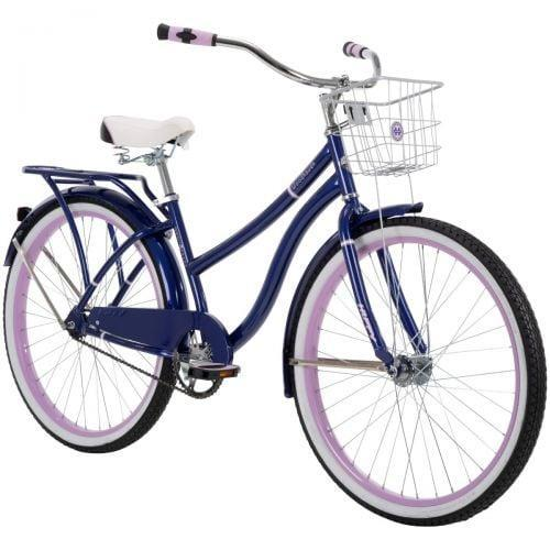 <p>We love the two-tone details on this <span>Huffy Woodhaven Cruiser Bike</span> ($280).</p>