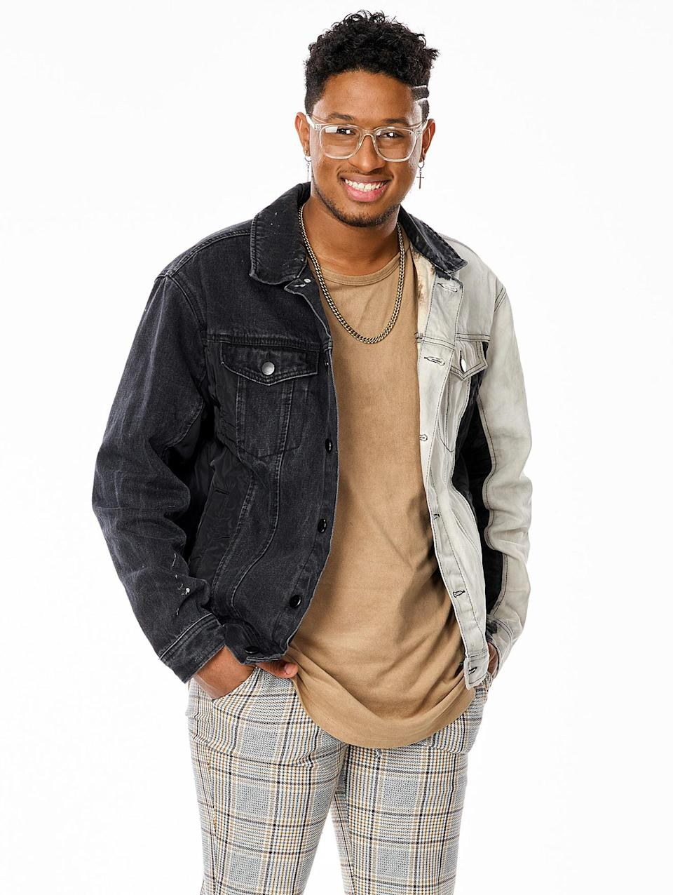"""<p><strong>Age:</strong> 21</p> <p><strong>Hometown:</strong> McKinney, Texas</p> <p><strong>Resident:</strong> Woodlands, Texas</p> <p>Romeo had a rocky start to life, but he always found comfort in music. At 3 years old, Romeo and his siblings were placed into foster care, but they were eventually all adopted into one family. He started singing and as he got older, he began performing around town at local coffee shops. At 16, Romeo got in trouble with his school and was afraid of disappointing his parents so he ran away and tried to make it on his own by busking on the streets. He finally understood unconditional love when he came across his face on a missing person poster and decided to return home to his family. Romeo now teaches music and art to kids, leads worship at his church and is working on building a relationship with his birth mother. </p> <p>""""I am STOKED to work with Nick,"""" he says. """"We are very similar vocally and in our artistry. I know I can go far with him.""""</p> <p>""""Working with Nick has been a dream come true,"""" he continues. """"He has taught me so much, and I've been able to use what he's taught me to better myself as an artist and as a singer.""""</p>"""