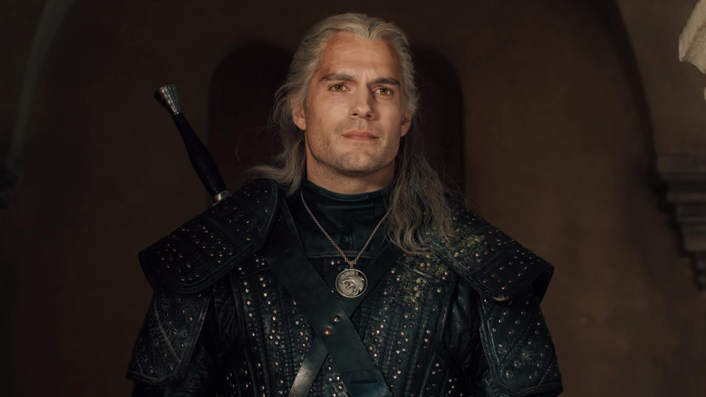 Henry Cavill as monster hunter Geralt Of Rivia in the Netflix adaptation of 'The Witcher'. (Credit: Netflix)