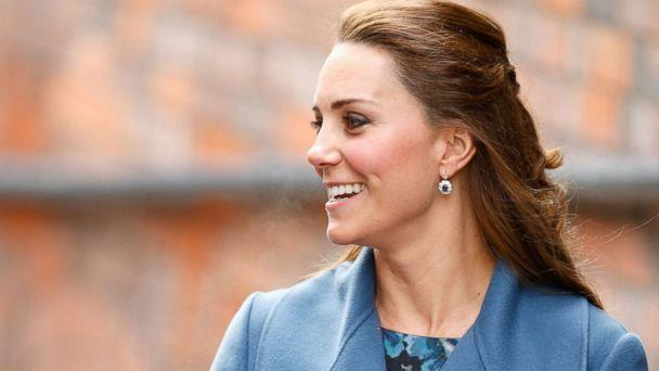 PHOTO: Catherine, Duchess of Cambridge visits the Emma Bridgewater pottery factory to view the production of a mug that the company has launched in support of East Anglia's Children's Hospices on Feb. 18, 2015 in Stoke-on-Trent, Staffordshire, England. (Max Mumby/Indigo/Getty Images)