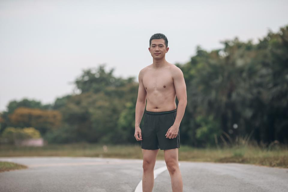 Sutsiam Sae Goh is an actor as well as a fitness instructor.