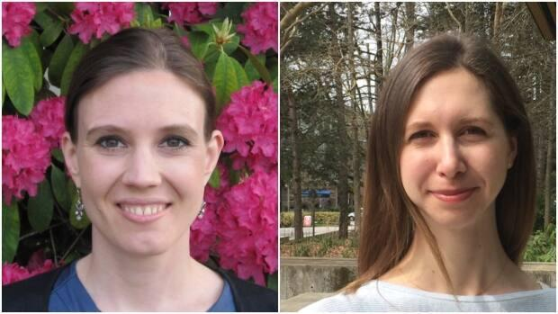 Anne Gadermann, left, and Kimberly Thomson are two of the researchers who have surveyed parents throughout the pandemic to get a sense of COVID-19's toll on their mental health.