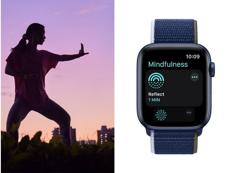 WatchOS 8's new Mindfulness app is but one facet of Apple's approach to mindfulness as a whole. — Picture courtesy of Apple