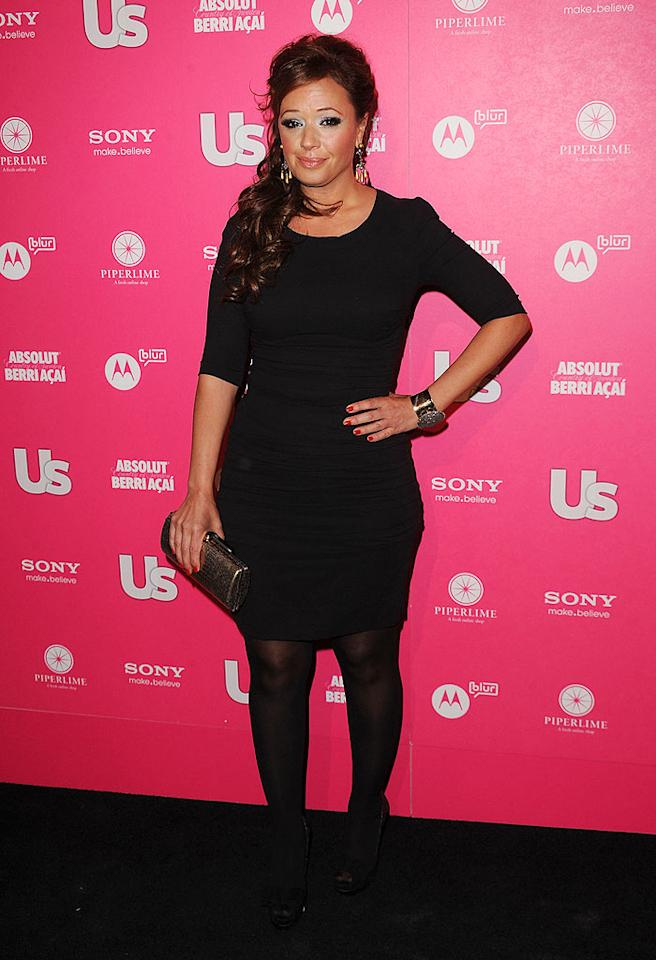 """J.Lo's BFF Leah Remini, who also busted a move at the event, told <a href=""""http://www.usmagazine.com/celebritynews/news/jennifer-lopez-marc-anthony-dirty-dance-at-us-weekly-bash-2010234"""" target=""""new"""">Us</a> that she always turns to La Lopez for style advice. """"Jennifer is fearless when it comes to fashion, and she is always beautiful and always takes a risk. She doesn't care what people think."""" Jason Merritt/<a href=""""http://www.gettyimages.com/"""" target=""""new"""">GettyImages.com</a> - April 22, 2010"""