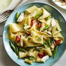 """<p>Go ahead and toss a can or two of crab into your cart. You won't regret it. </p><p><em><a href=""""https://www.womansday.com/food-recipes/food-drinks/a27273737/pappardelle-with-crab-snap-peas-orange-chiles-recipe/"""" rel=""""nofollow noopener"""" target=""""_blank"""" data-ylk=""""slk:Get the recipe for Pappardelle with Crab, Snap Peas, Orange, and Chiles"""" class=""""link rapid-noclick-resp"""">Get the recipe for Pappardelle with Crab, Snap Peas, Orange, and Chiles</a></em></p>"""