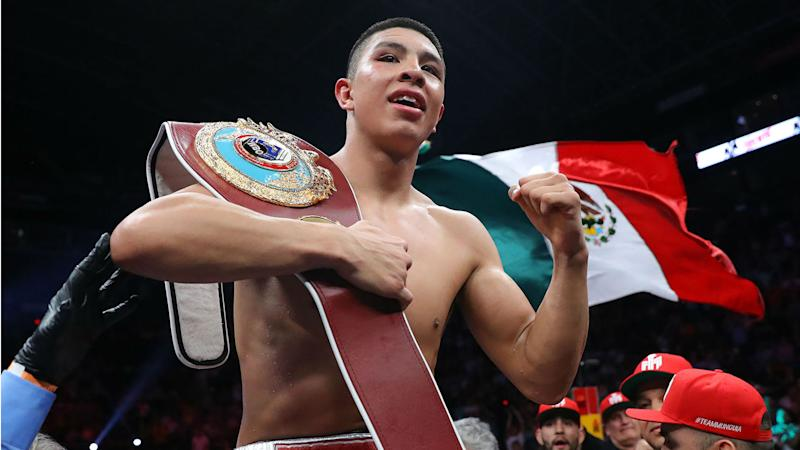 Jaime Munguia vs. Patrick Allotey result: Munguia defends WBO 154-pound title with fourth-round TKO