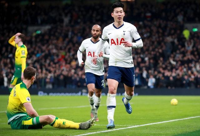 Tottenham were in action on Wednesday, 24 hours after Southampton played