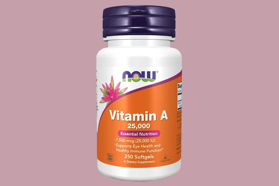 NOW supplements vitamin A.