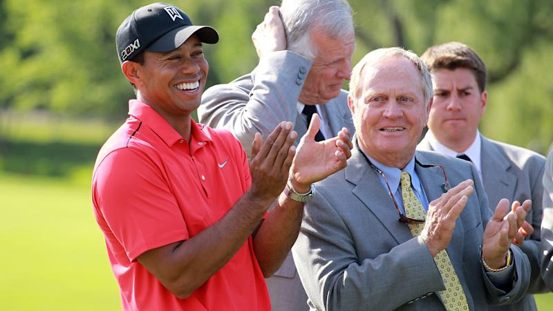 Jack Nicklaus calls on golf to support Tiger Woods