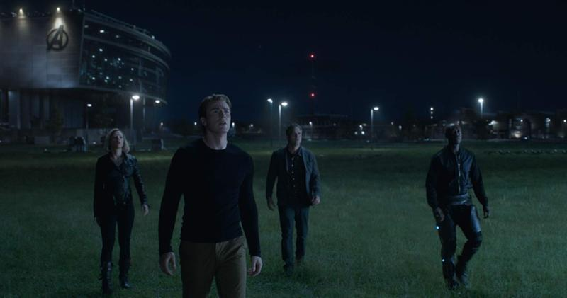 The Avengers gather
