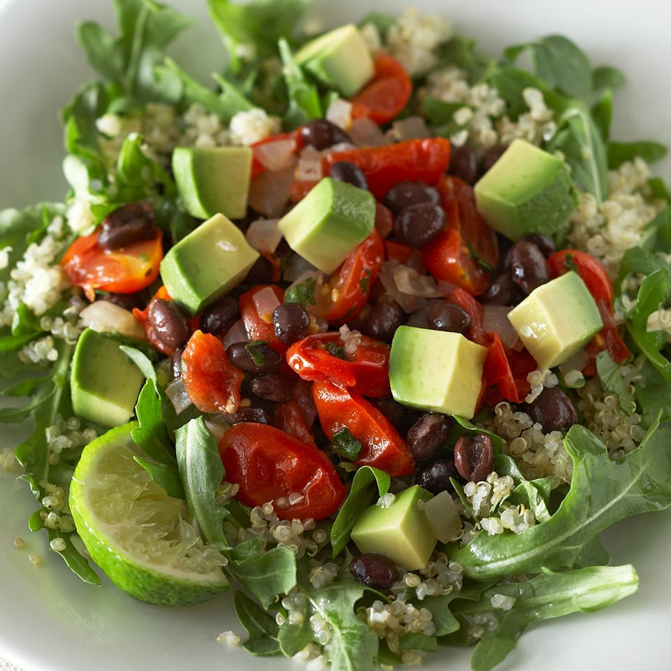 <p>Healthy fats, plant protein, vitamins and minerals are just some of the benefits to this delicious vegetarian main dish.</p>