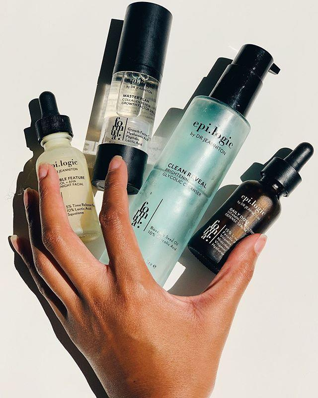 """<p>I have yet to try an Epi.logic product that I haven't absolutely loved—it's really that good. The Black-owned skincare line is the beauty brainchild of by NYC plastic surgeon <a href=""""https://brooklynfaceandeye.com/"""" rel=""""nofollow noopener"""" target=""""_blank"""" data-ylk=""""slk:Chaneve Jeanniton, MD"""" class=""""link rapid-noclick-resp"""">Chaneve Jeanniton, MD</a> and is full of pro-quality products infused with powerful actives, like retinol, vitamin C, peptides, and <a href=""""https://www.cosmopolitan.com/style-beauty/beauty/g32909773/glycolic-acid-serum/"""" rel=""""nofollow noopener"""" target=""""_blank"""" data-ylk=""""slk:glycolic acid"""" class=""""link rapid-noclick-resp"""">glycolic acid</a>.</p><p><strong>✨ Must-try product:</strong> <a href=""""https://epilogicskincare.com/product/clean-reveal/"""" rel=""""nofollow noopener"""" target=""""_blank"""" data-ylk=""""slk:Clean Reveal Brightening Glycolic Gel Cleanser"""" class=""""link rapid-noclick-resp"""">Clean Reveal Brightening Glycolic Gel Cleanser</a></p><p><a href=""""https://www.instagram.com/p/CECDibdJ525/?utm_source=ig_embed&utm_campaign=loading"""" rel=""""nofollow noopener"""" target=""""_blank"""" data-ylk=""""slk:See the original post on Instagram"""" class=""""link rapid-noclick-resp"""">See the original post on Instagram</a></p>"""