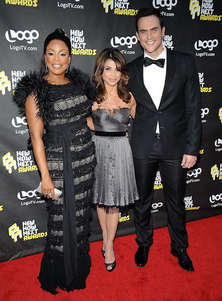 "Paula Abdul, the recipient of this year's ""Always Next, Forever Now"" award for a pop icon, struck a pose with the event's hosts, ""Dancing With the Stars"" alum Niecy Nash and ""30 Rock"" cutie Cheyenne Jackson. The show airs at 10 p.m. ET/PT June 17 on Logo. Michael Kovac/<a href=""http://www.filmmagic.com/"" target=""new"">FilmMagic.com</a> - June 8, 2010"