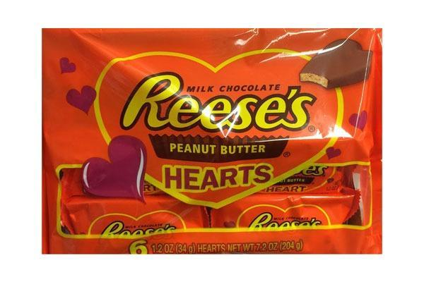 Valentines Candy Ranked Peanut Butter Hearts