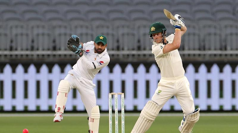 Cameron Bancroft hit 49 in a show of resistance for Australia A against Pakistan