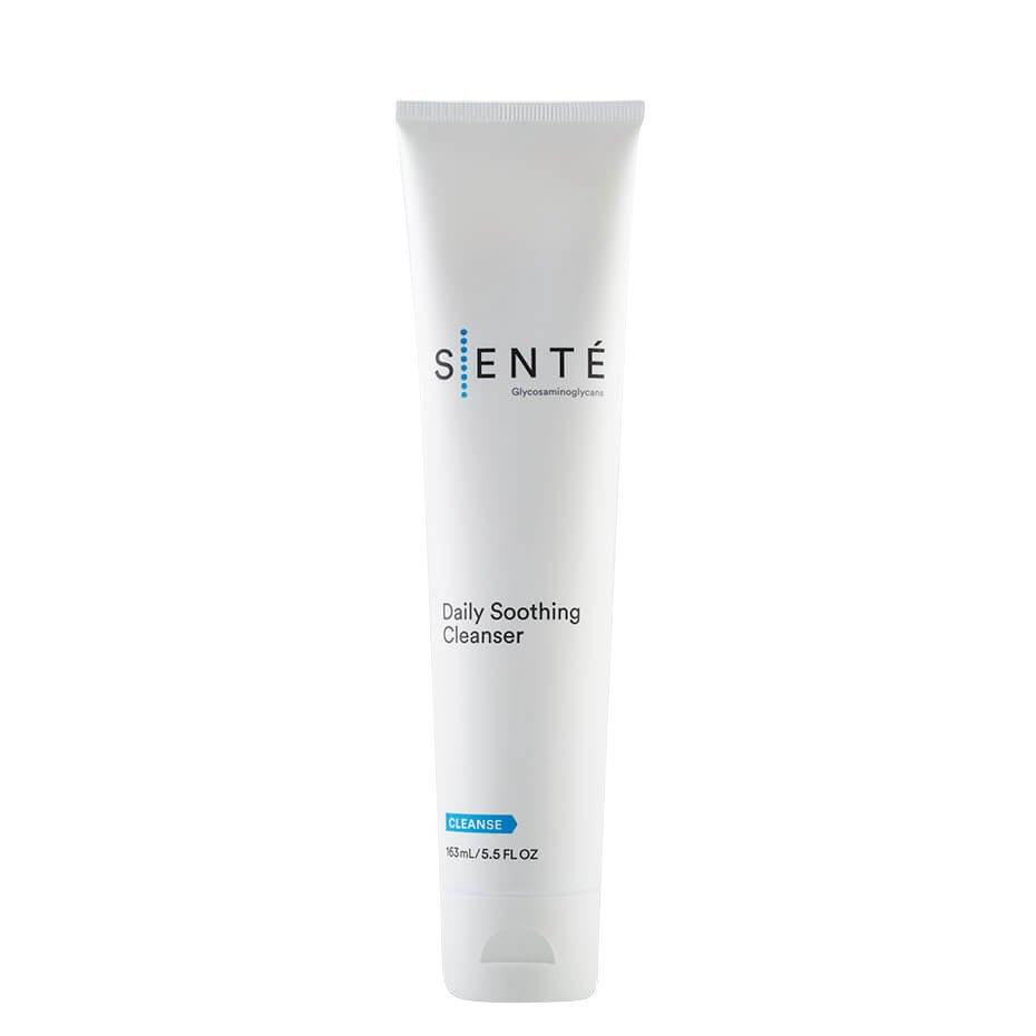 <p>Dr. Downie says to look for an unscented cleanser with a formula that cleans and keeps skin balanced. Dry complexions need all the moisture they can get, so she's a fan of Sente's Daily Soothing Cleanser because it washes away dirt, oil, and grime without stripping skin. </p>