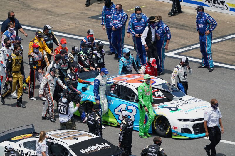 Justice Department says no federal crime committed in NASCAR noose case