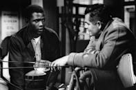 <p>Born in Miami in 1927, Sidney Poitier was raised in the Bahamas but returned to the States as a teen, acting with the North American Negro Theatre before landing his breakthrough role in 1955's <em>Blackboard Jungle.</em></p> <p>One of the first Black actors to find commercial success, he was also the first Black man to win the Best Actor Oscar, and paved the way for many actors of color who've since followed. </p>