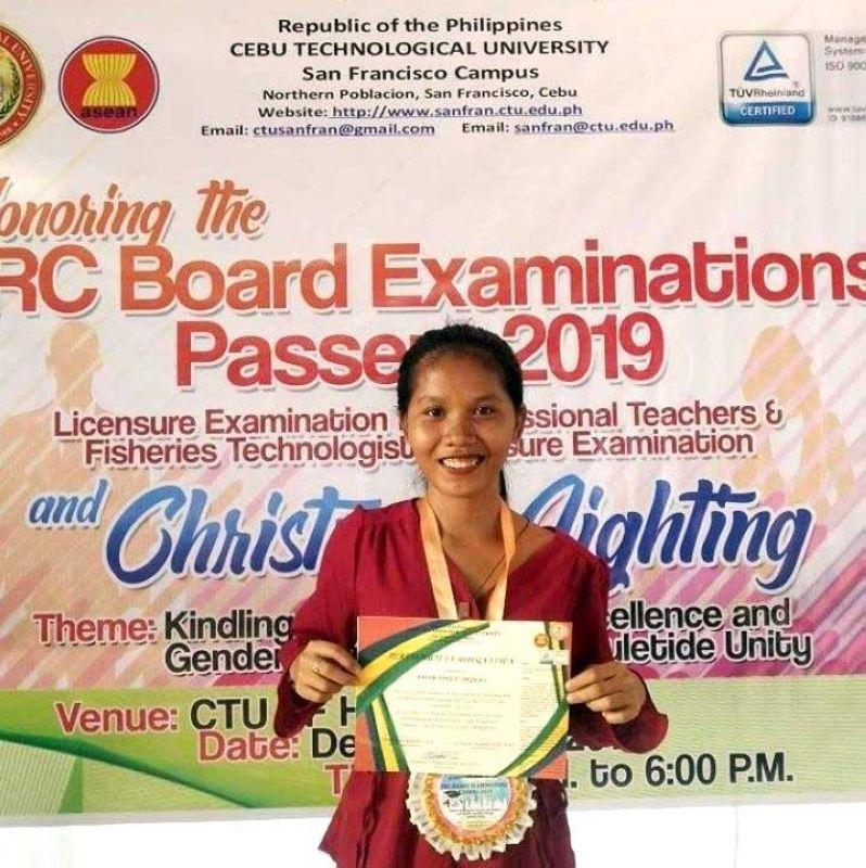 Pantawid beneficiary lands 10th in LET exam
