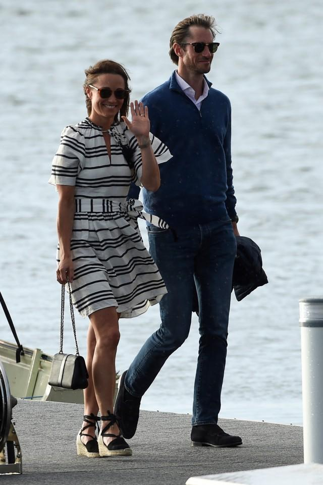 Pippa middleton in espadrilles