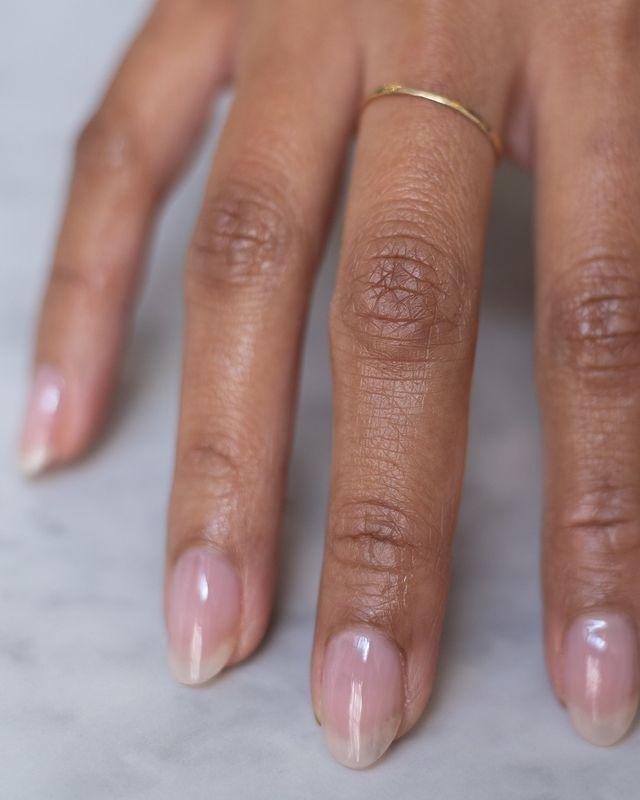 """<p>For nails that look like they've had 2 weeks in the sun, apply a sheer pink polish followed by a coat of clear.</p><p><a href=""""https://www.instagram.com/p/CN4shQ2FVJP/"""" rel=""""nofollow noopener"""" target=""""_blank"""" data-ylk=""""slk:See the original post on Instagram"""" class=""""link rapid-noclick-resp"""">See the original post on Instagram</a></p>"""