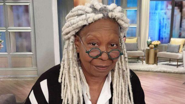 PHOTO: 'The View' co-host Whoopi Goldberg debuts her new hair, Sept. 18, 2019. (ABC News)