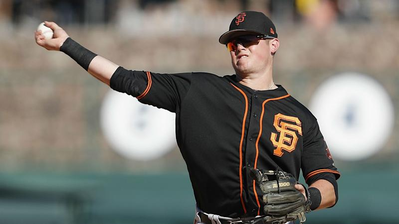 Giants unleash top prospect Christian Arroyo in hopes of snapping slump