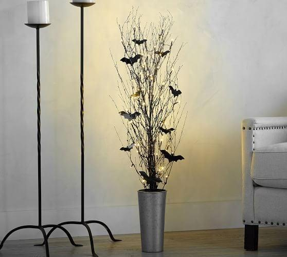 <p>Set a chic and batty tone with the <span>Lit German Glitter Bundle With Bats</span> ($50) in your home. </p>
