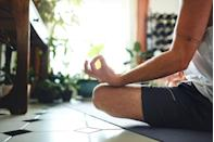 """<p>Kan, 38, begins his day with a cup of decaf coffee and a 'productivity drink' called Magic Mind, which contains adaptogens ashwagandha and turmeric. After that, he meditates for 25 minutes and writes in a gratitude journal. 'I list positive affirmations, the things I want to channel in the world,' says Kan. 'So, that's like, """"I'm a calm person on the banks of a river. I'm not in the river.""""'</p>"""