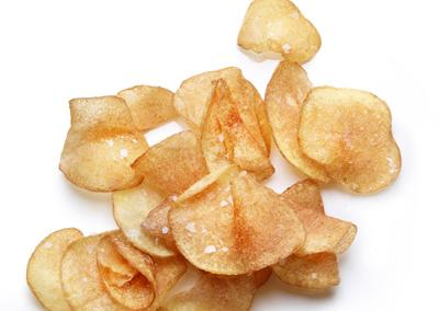 "<div class=""caption-credit""> Photo by: Photograph by Levi Brown</div><div class=""caption-title""></div><b><a rel=""nofollow"" href=""http://www.bonappetit.com/recipes/2011/10/salt-and-vinegar-potato-chips?mbid=synd_yshine"" target="""">Salt-and-Vinegar Potato Chips</a></b> <br> <br> The perfect crunchy potato chips-at home. <br> <br>"