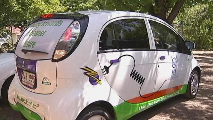 Canberra electric car network stalls