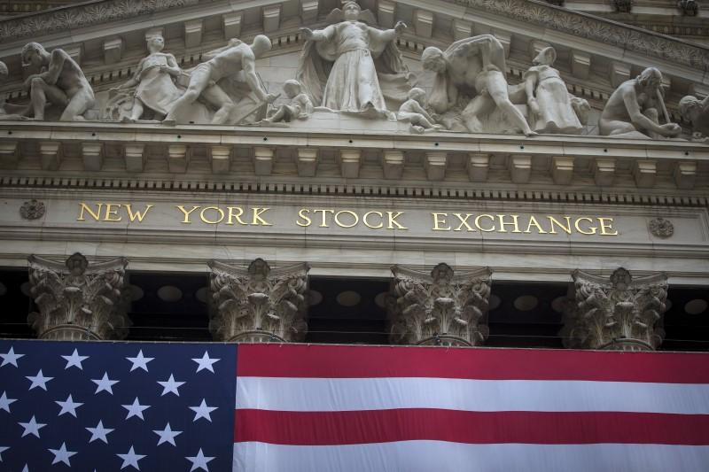 The New York Stock Exchange is pictured in the Manhattan borough of New York