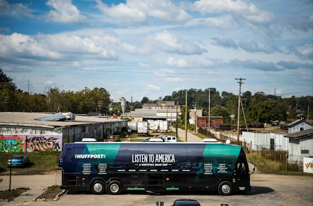 """HuffPost visits Asheville, North Carolina, on Sept. 25, 2017, as part of """"Listen to America: A HuffPost Road Trip."""""""