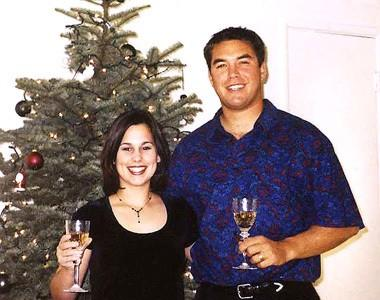 """Laci and Scott Peterson are shown in an undated photo. <span class=""""copyright"""">(Modesto Bee)</span>"""