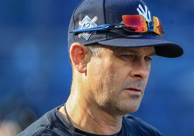 Irritated Yankees' Aaron Boone to Rockies: 'Throw the ball over the plate'