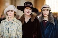 """<p>It's tough to call yourself a fan of British period drama if you <a href=""""https://www.townandcountrymag.com/leisure/arts-and-culture/a22224870/where-to-watch-stream-downton-abbey/"""" rel=""""nofollow noopener"""" target=""""_blank"""" data-ylk=""""slk:haven't watched"""" class=""""link rapid-noclick-resp"""">haven't watched </a><em><a href=""""https://www.townandcountrymag.com/leisure/arts-and-culture/a22224870/where-to-watch-stream-downton-abbey/"""" rel=""""nofollow noopener"""" target=""""_blank"""" data-ylk=""""slk:Downton Abbey"""" class=""""link rapid-noclick-resp"""">Downton Abbey</a></em>. The popular series chronicles the Crawley family and their household staff through WWI and the early 1920s, but this is hardly a boring history lesson. There's<a href=""""https://www.townandcountrymag.com/leisure/arts-and-culture/g2038/downton-abbey-secrets/"""" rel=""""nofollow noopener"""" target=""""_blank"""" data-ylk=""""slk:plenty of scandal and intrigue to go around"""" class=""""link rapid-noclick-resp""""> plenty of scandal and intrigue to go around</a>. Plus, <a href=""""https://www.townandcountrymag.com/leisure/arts-and-culture/a22139335/downton-abbey-movie-news/"""" rel=""""nofollow noopener"""" target=""""_blank"""" data-ylk=""""slk:a new movie version is coming out this fall"""" class=""""link rapid-noclick-resp"""">a new movie version is coming out this fall</a>. </p><p><a class=""""link rapid-noclick-resp"""" href=""""https://www.amazon.com/gp/video/detail/B01B1H0208/?tag=syn-yahoo-20&ascsubtag=%5Bartid%7C10067.g.28484672%5Bsrc%7Cyahoo-us"""" rel=""""nofollow noopener"""" target=""""_blank"""" data-ylk=""""slk:Watch Now"""">Watch Now</a> </p>"""