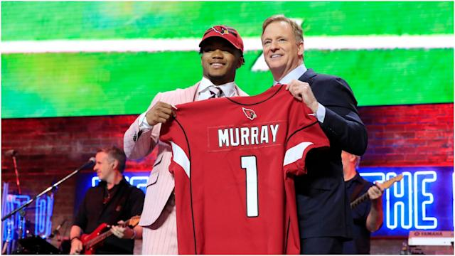 Arizona Cardinals quarterback Kyler Murray wants to go down as an all-time great after being drafted first overall.