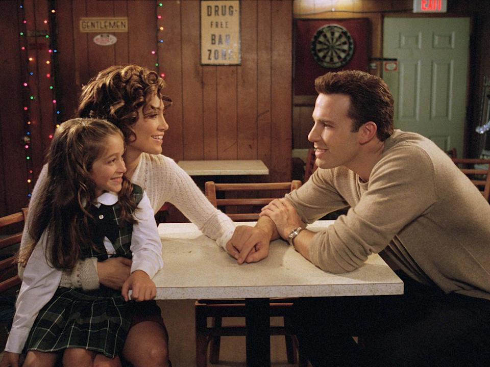 Lopez and Affleck both starred in 'Jersey Girl' after having lead roles for 'Gigli' in 2003Moviestore/Shutterstock
