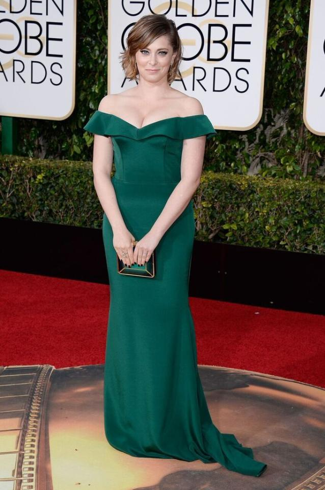 Best: Rachel Bloom in Christian Siriano at the 73rd Annual Golden Globe Awards.