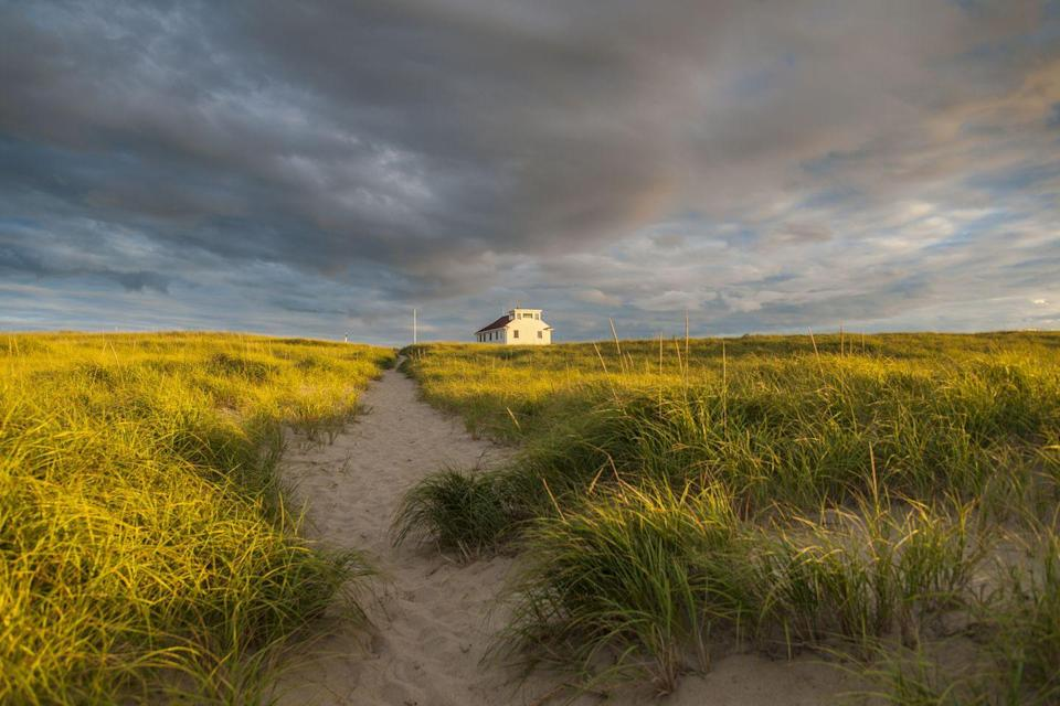 <p>Even with storm clouds overhead, the view at Race Point Beach can't be beat.</p>