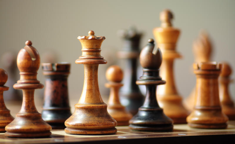 A chess set.