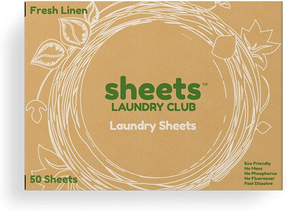 sheets laundry club detergent sheets