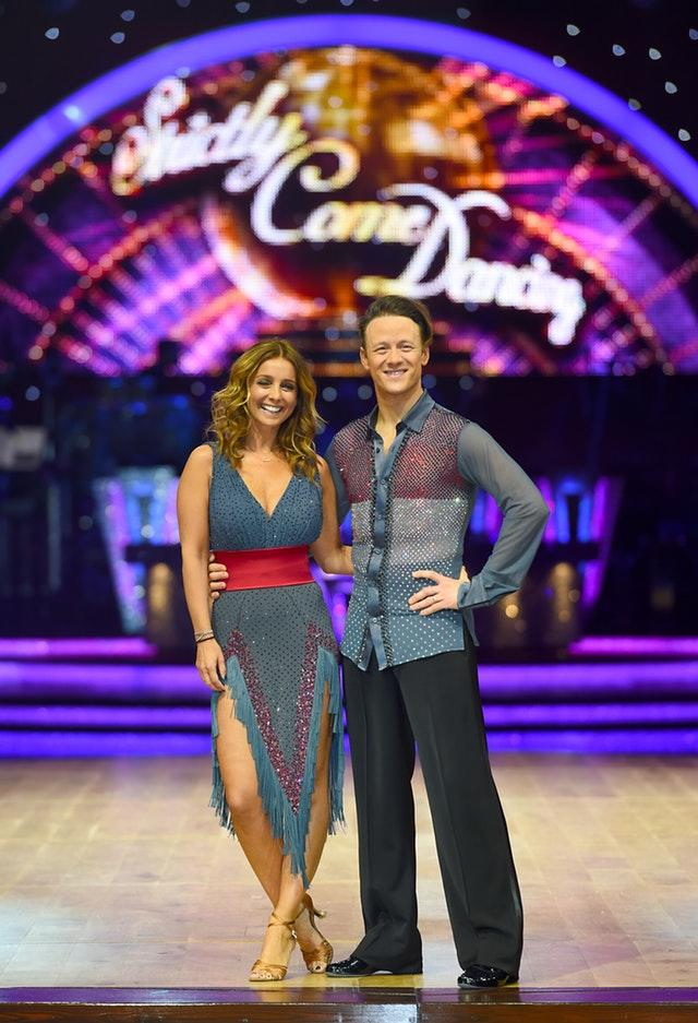 Louise Redknapp and Kevin Clifton on the Strictly Come Dancing Live Tour