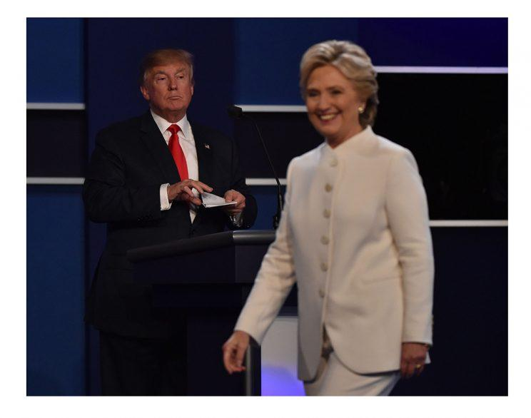 Donald Trump and Hillary Clinton (Paul J. Richards/AFP/Getty Images)